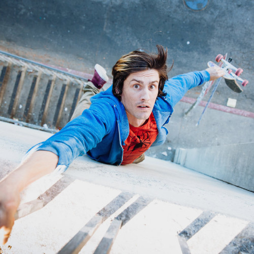 william spencer ampisound skateboarder parkour