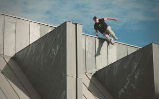 austin phillips ampisound goodbye cambridge parkour freeruning rooftops