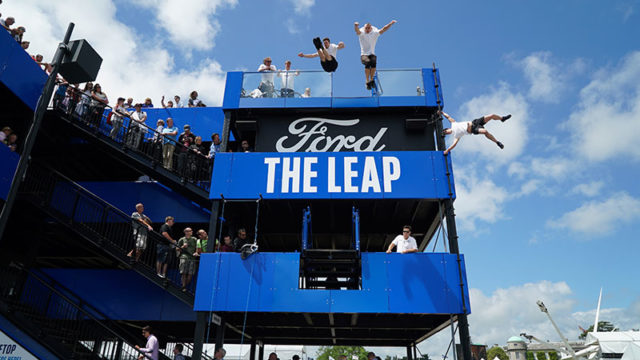 ford parkour goodwood festival of speed