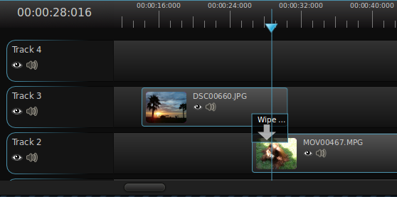 editing timeline