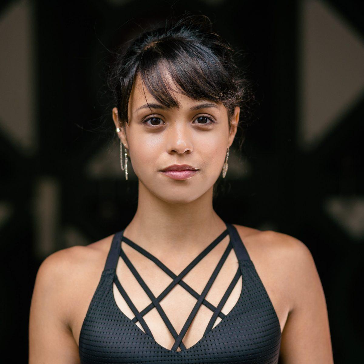 Lorena Abreu Athlete Headshot Parkour Exatlon